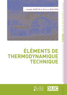 Éléments de thermodynamique technique