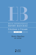Revue internationale Henry Bauchau n°7 – 2015