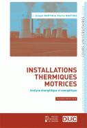 Installations thermiques motrices