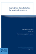 Geometrical characterisation for structural robustness