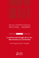 Revue internationale Michel Henry n°7 - 2016