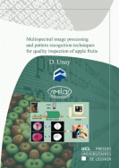 Multispectral image processing and pattern recognition techniques for quality inspection of apple fruits