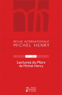Revue internationale Michel Henry n°1 - 2011